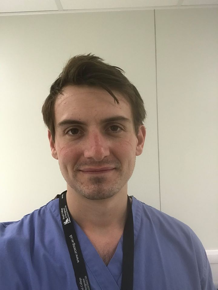 Tom Sullivan, Old Waynflete, Trauma and Intensive Care doctor Royal London Hospital